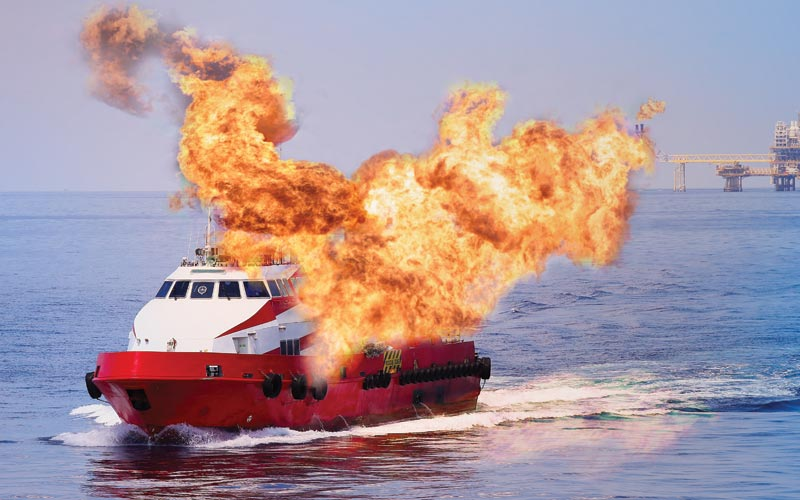 marine and boat fires